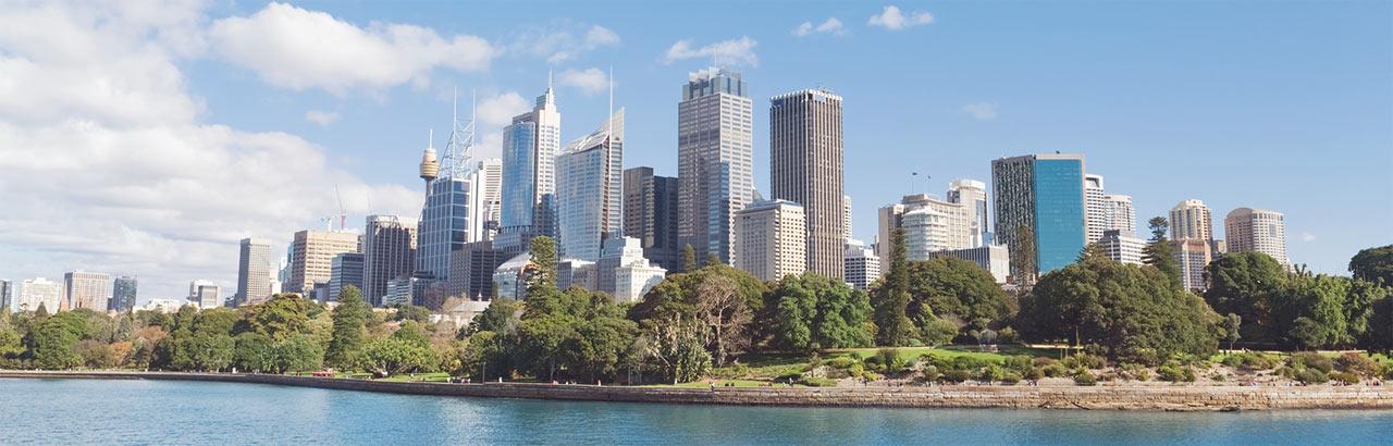 Photo of Sydney skyline
